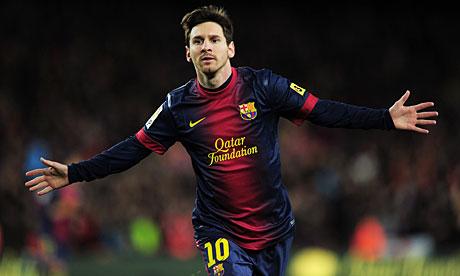 Barcelona and four time winner of Ballon d'Or